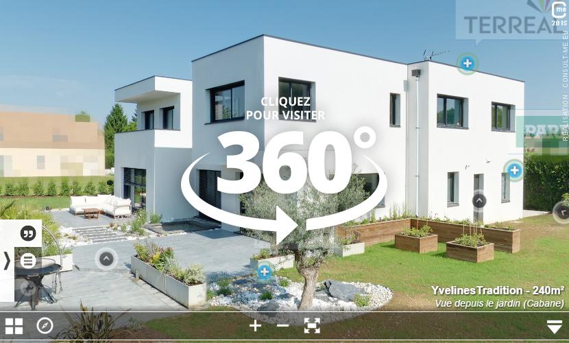 Visite reelle 360 maison temoin