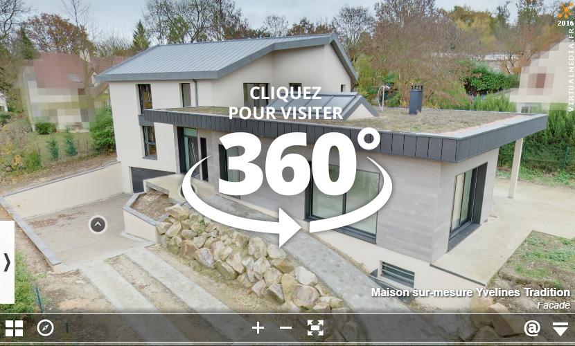 plan de maison visite virtuelle