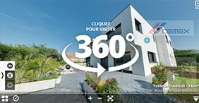 Visitez nos maisons en realite virtuelle 360