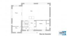 Maison haut de gamme toit terrasse for Plan maison haut de gamme
