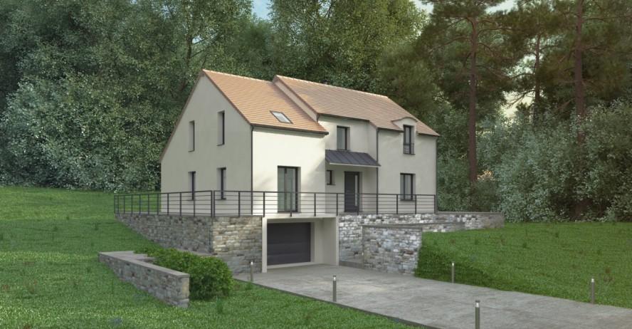 Maison haut de gamme classique et modernite 1